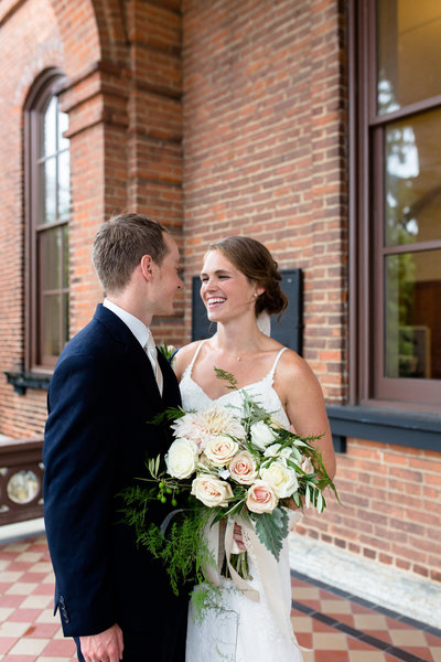 Stillwater, MN Boho chic summer wedding