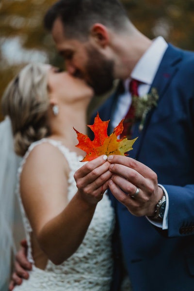 Rustic Maine Wedding Fall Wedding