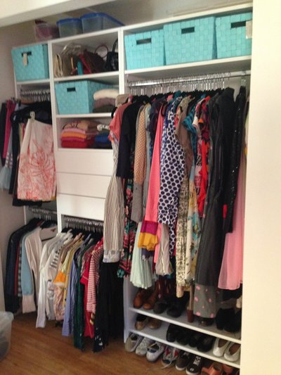 FEMALE CLOSET AFTER