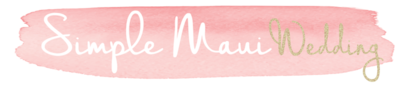 Simple Maui Wedding logo 2