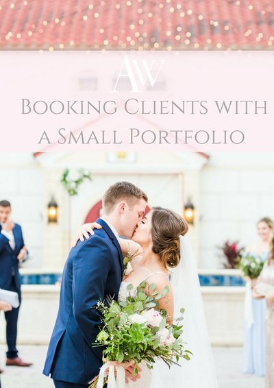 booking clients with a small portfolio