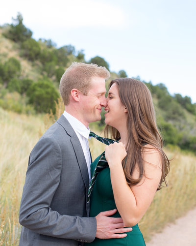 Garden of the Gods engagement photography colorado