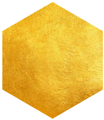 hexagon-solid-gold