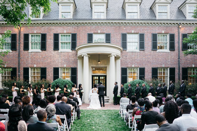 garden carolina inn wedding