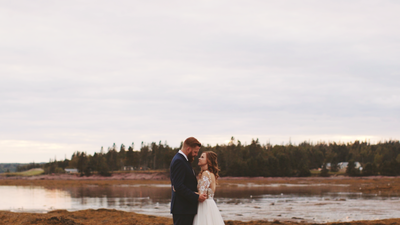 The wedding film of Megan and Andrew in Fredericton NB
