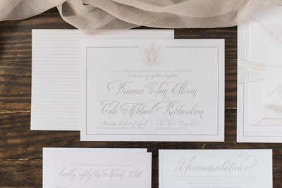 wedding invitation designer collection suites, Wedding invitations