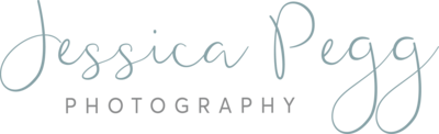 Jessica Pegg - logo.variation grey. Transparent background