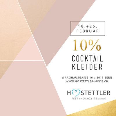 10% auf Cocktailmode, Aktion, Vergünstigte FEstkleider