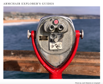 Armchair Explorer Guides