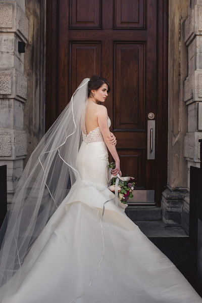 bridal portrait, charlotte northrope photography, ottawa wedding planner