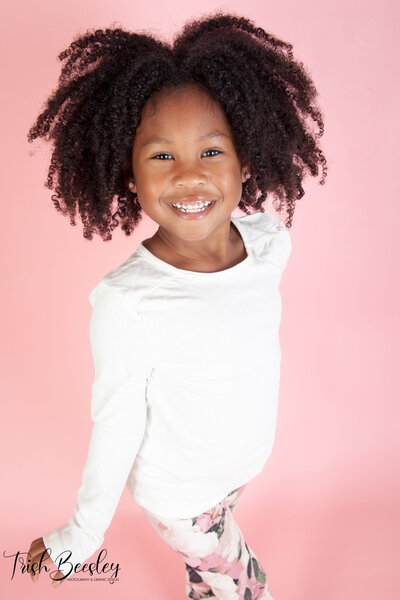 Pre-school portraits of toddlers up to the age of 6  done professionally at your location.