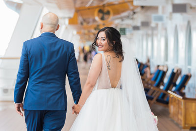 Disney Cruise Wedding with Disney Weddings