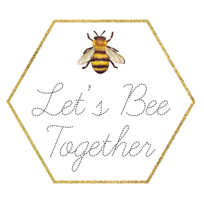Let's Bee Together logo - square