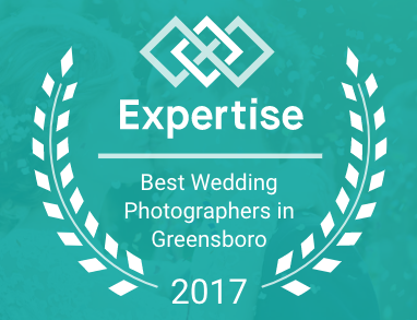 expertise.com best wedding photographers in greensboro 2017