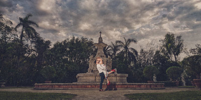 Vizcaya Engagement Photography Miami Deivis Archbold