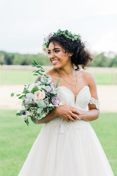 Bright and airy styled shoot
