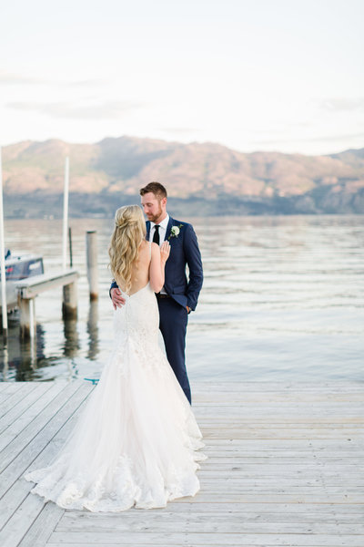 Kelowna lakefront winery wedding Quail's Gate Winery by Blush Sky Photography