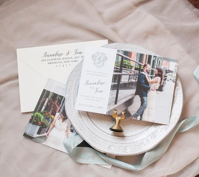 A Charming Fete Cleveland Wedding Save the Date