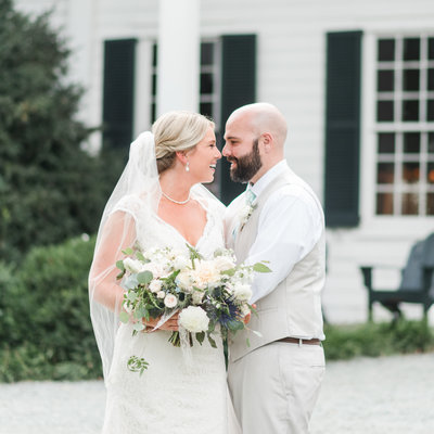 southern rustic neutral wedding by hampton roads wedding photographer