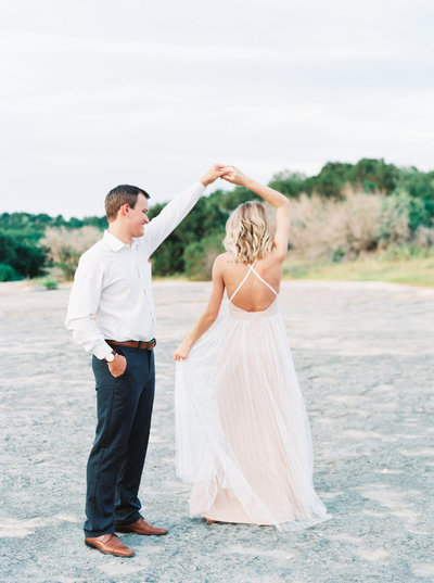 McKinney Falls Engagement Photos Austin TX-11-2