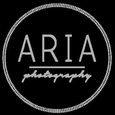 Aria Photography Logo Grey Transparent