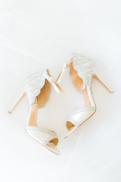 Badgley Mishcka wedding heels