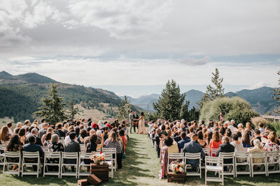 Mountain Wedding Ceremony Inspiration