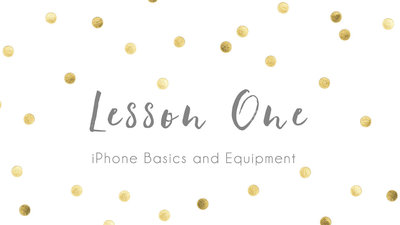 lesson-one