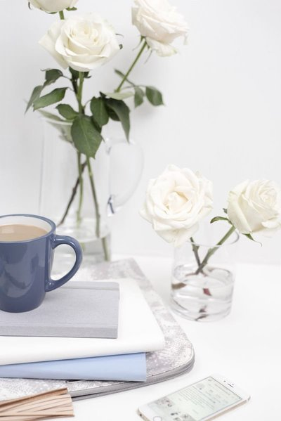 Blue-notepad-White-Rose-4