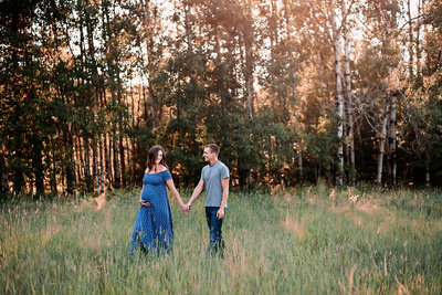 Maternity, Sun-Kissed, Photography Session, Golden Hour