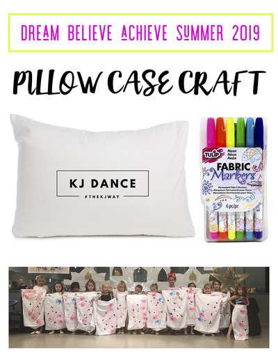 PILLOW CASE CRAFT CAMP 2019
