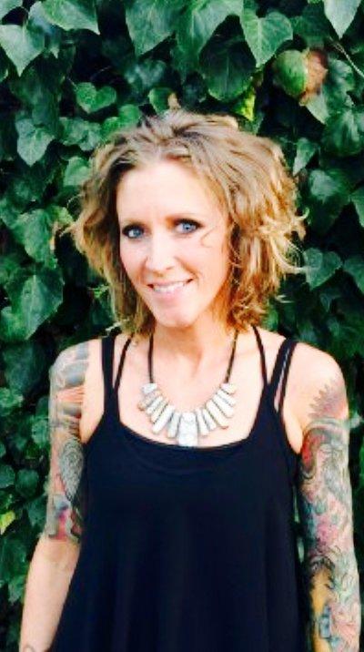 Hairstylist Erin Olson