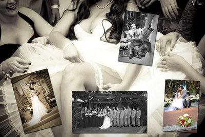 Kassel photography wedding album book sample.