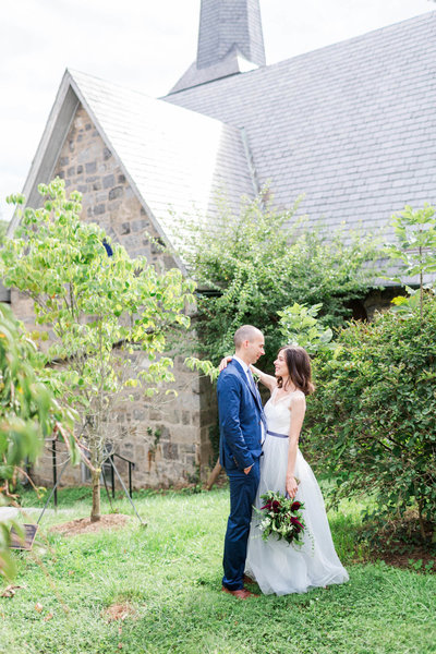 Allison & Joe_Howard County Ellicot City Intimate Courthouse Summer Wedding_Rachel Word Photography_Bride & Groom Portraits-63