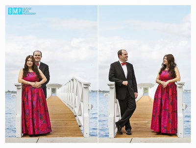 Engagement Session at the Heitman House in Downtown Fort Myers