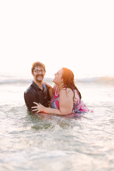 Daytona Beach engagement photo by Sidney Baker-Green