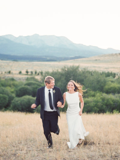 Bozeman Wedding Photographer - Bridger Mountain Wedding by Orange Photographie