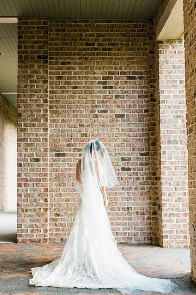 Norfolk Hermitage Museum wedding photo