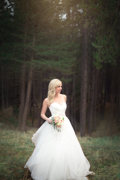 Chantel Jeremy Banff Whimsical Forest Wedding-2