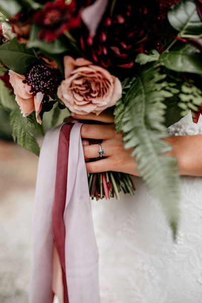 Burgundy Seattle PNW Inspired Wedding Planner
