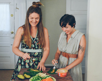 Having fun teaching women to feel confident in the kitchen | Jenna Bee Nutrition
