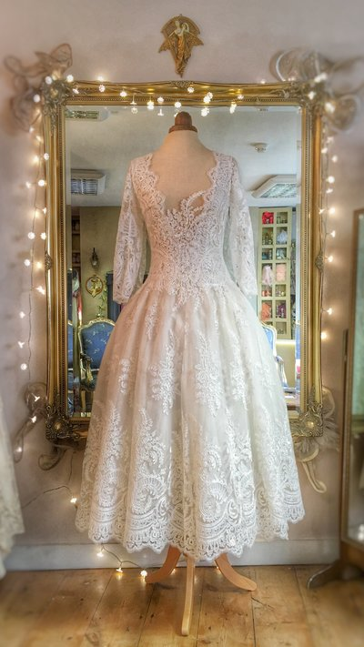Aurelia_illusion_lace_neckline_ballerina_wedding_dress_JoanneFlemingDesign