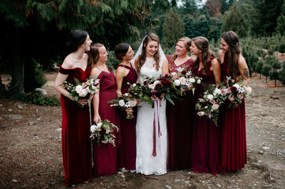 Moody Fall PNW Wedding Elopement