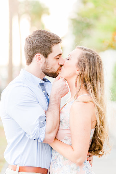 dreamy pastel charleston sc engagement session by chesapeake charm photography