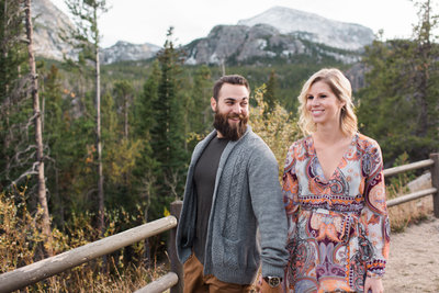 Mountains Colorado Engagement Session Wedding Photographer