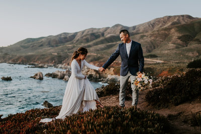 Adventurous Big Sur Elopement - Nicole Henshaw Photography