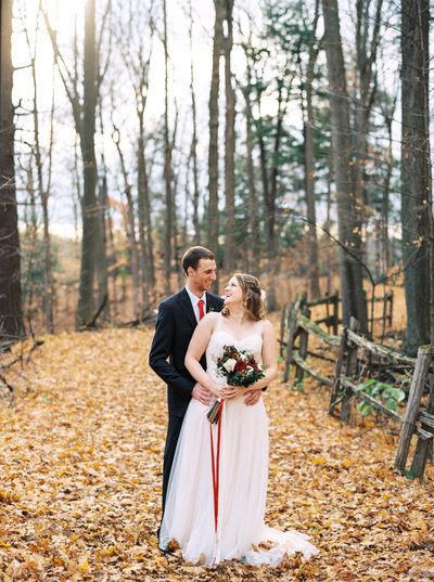 Kortright Centre Wedding Autumn Fine Art Film Photographer