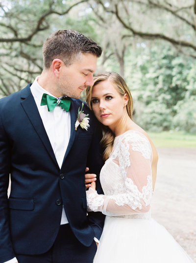 Dear Scarlett Romantic Wedding at Wormsloe Plantation