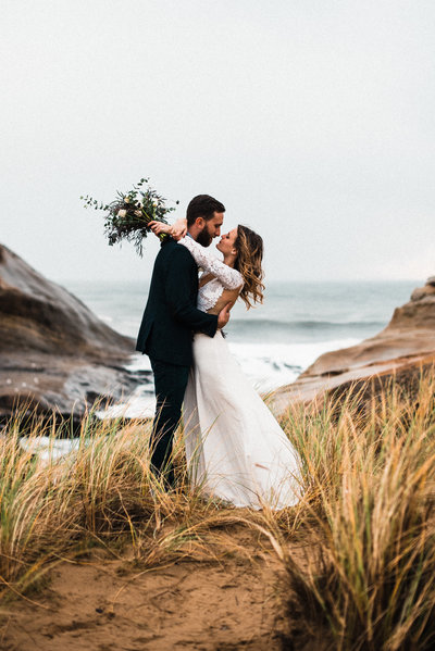 PNW Oregon Coast Elopement Wedding Planner