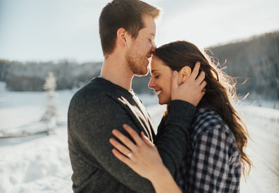 vail engagement photography - Caroline Bauer